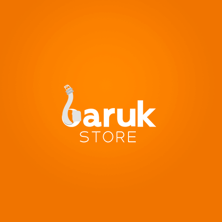 Criação de logo para a loja Baruk Store